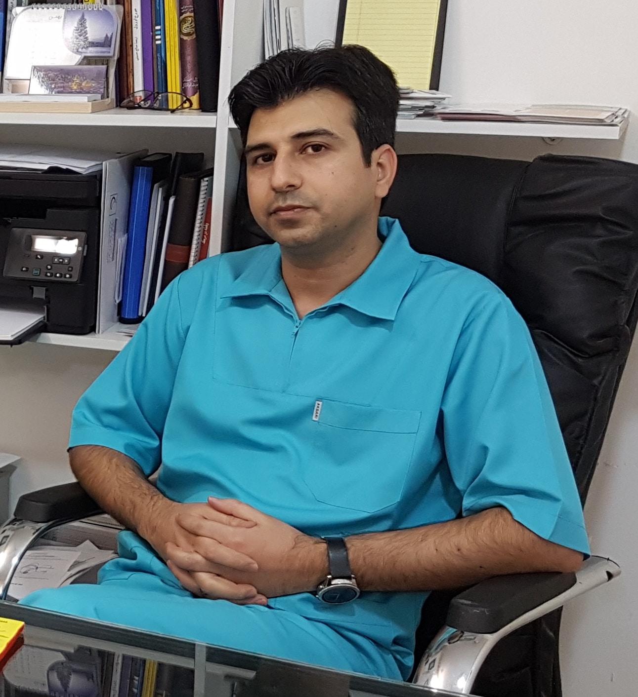 دکتر محمد باقر خفاف بهترین دندانپزشک گرگان